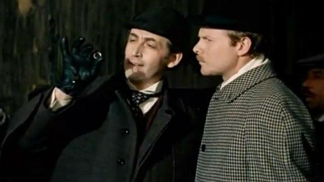 Шерлок Холмс и доктор Ватсон. Серия 2. Кровавая надпись
