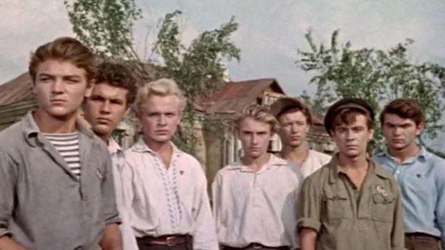 """Фильм """"Партизанская искра"""" (1957)"""