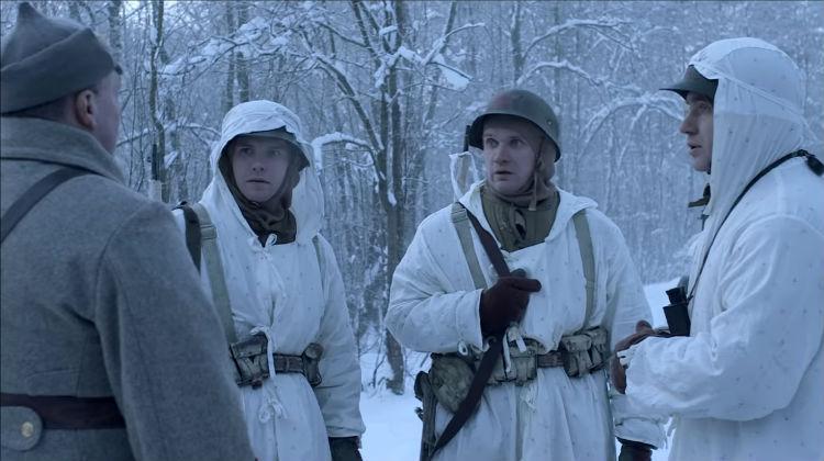 Военная разведка. Северный фронт. 2 серия