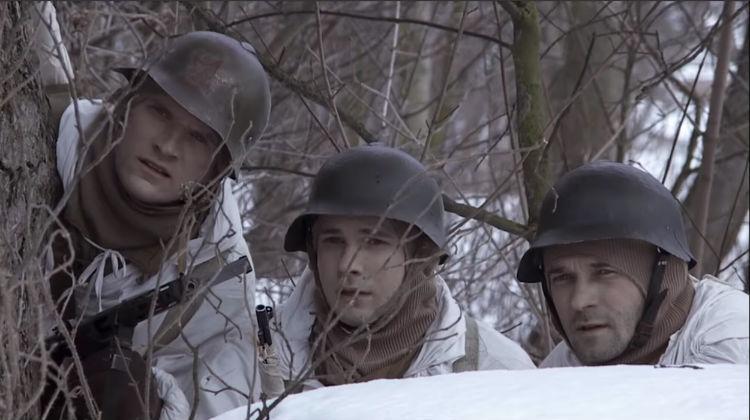 Военная разведка. Северный фронт. 8 серия.